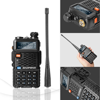 vhf uhf 2pcs Baofeng BF-F8 + מכשיר קשר Dual Band המקצועי VHF UHF שתי דרך רדיו התחנה Woki טוקי משדר Ham Radio Network (3)