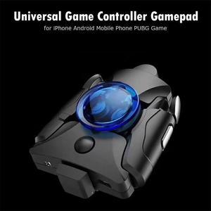 Image 2 - VODOOL oyun denetleyicisi cep telefonu geri klip Gamepad tetik düğme Joystick iPhone Android cep telefonu için PUBG oyunu evrensel