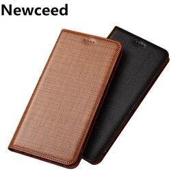На Алиэкспресс купить чехол для смартфона genuine leather business style credit card slot phone cover for nokia x71/nokia x7/nokia x6 2018 phone bag coque leather case
