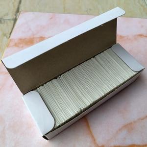 Image 2 - CNGZSY 100 stücke Metall Klingen Sicherheit Rasiermesser Schaber Kleber Messer Glas Reiniger Ersatz Carbon Stahl Klinge Auto Tönung Werkzeuge E13