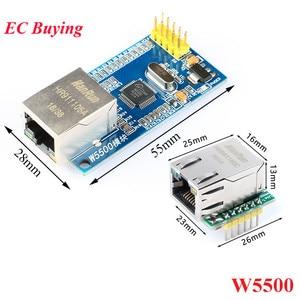 USR-ES1 W5500 SPI to LAN Ethernet Network Module Converter TCP IP 51/STM32 SPI Interface W5100 For Arduino Internet of Things