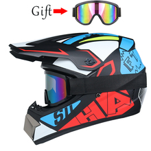 Casco de Motocross ATV, Para Moto, todoterreno, descenso, DOT