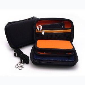 Image 5 - EVA Lagerung Zip Fällen reisetaschen für Nintendo Neue 3DS XL hard cover Pouch für spiel karten power bank Ladegerät konsole Zubehör