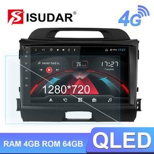 Image 1 - Isudar H53 4G Android 1 Din Tự Động Phát Thanh Cho Xe KIA/Sportage Máy Nghe Nhạc Đa Phương Tiện Octa Core RAM 4GB ROM 64GB GPS Camera Hình USB DVR DSP