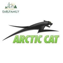 EARLFAMILY 13cm x 5.3cm for ARCTIC CAT Logo Car Stickers Vinyl JDM Bumper Trunk Truck Graphics Windshield Bumper Windows Decal