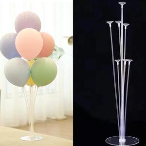 День Рождения вечерние подставка для воздушных шаров держатель для шарика колонна пластиковый шар палка День Рождения вечерние украшения ...