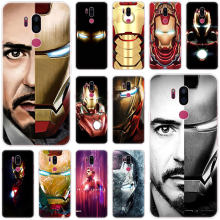 Super hero Iron Man Silicone Case For LG G5 G6 Mini G7 G8 G8S V20 V30 V40 V50 ThinQ Q6 Q7 Q8 Q9 Q60 W10 W30 Aristo 2 X Power 2 3(China)