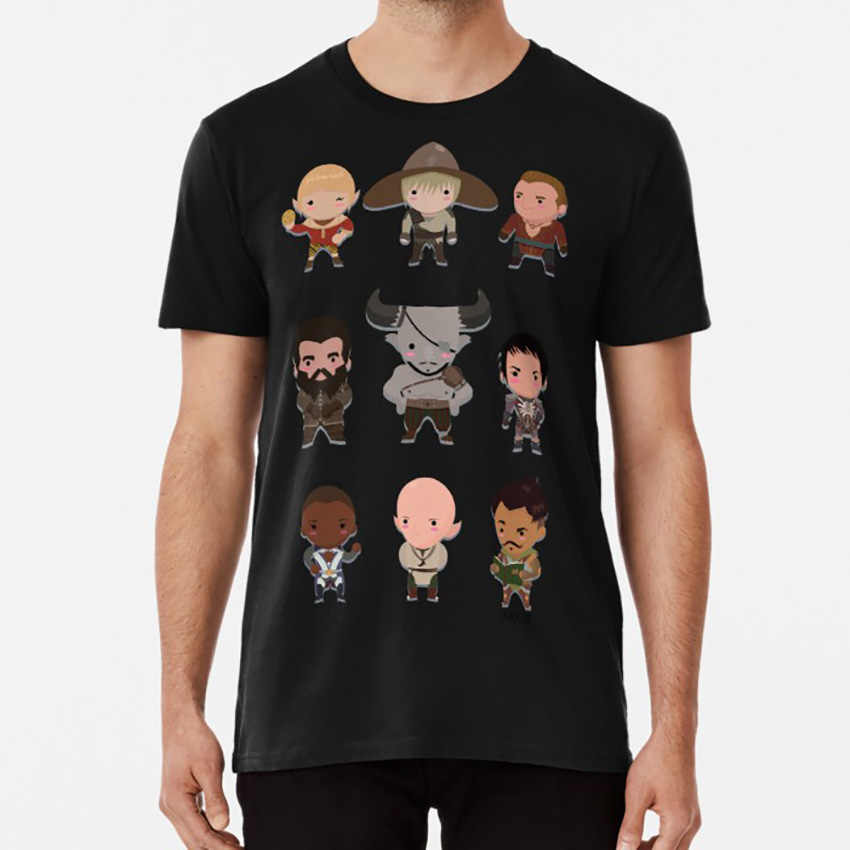 Cutequisition T shirt dragon age inquisition dragon age inquisition bioware solas the iron bull iron bull dorian pavus