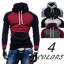 2019 New Leisure Time Fashion Hooded Cap Man Hoodie Best Sellers Color Matching Man Hoodie cheap Full REGULAR Casual STANDARD NONE Belt Print Polyester