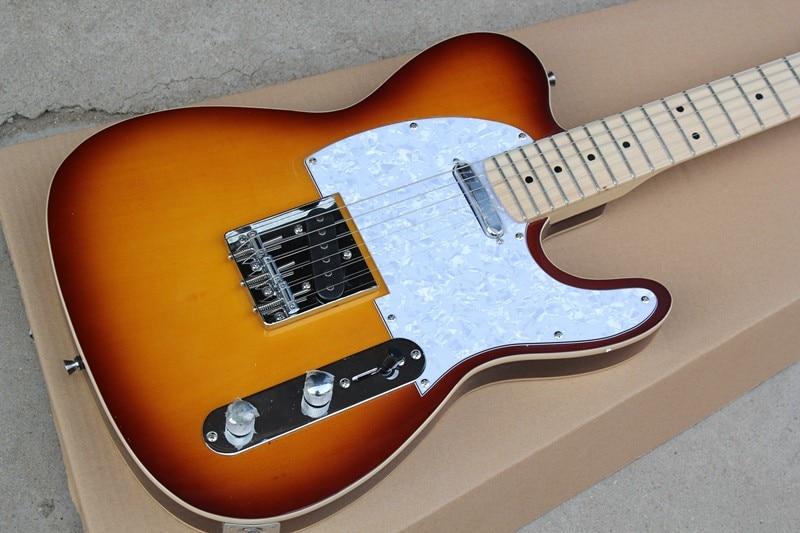 Factory store TL Sunburst sunset TELE Signature Electric Guitar Guitarra