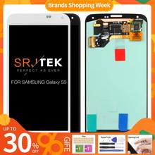"""5.1"""" AMOLED/OLED/TFT LCD for SAMSUNG Galaxy S5 LCD Display i9600 G900 G900F G900M G900H SM-G900F Touch Screen Digitizer Assembly(China)"""