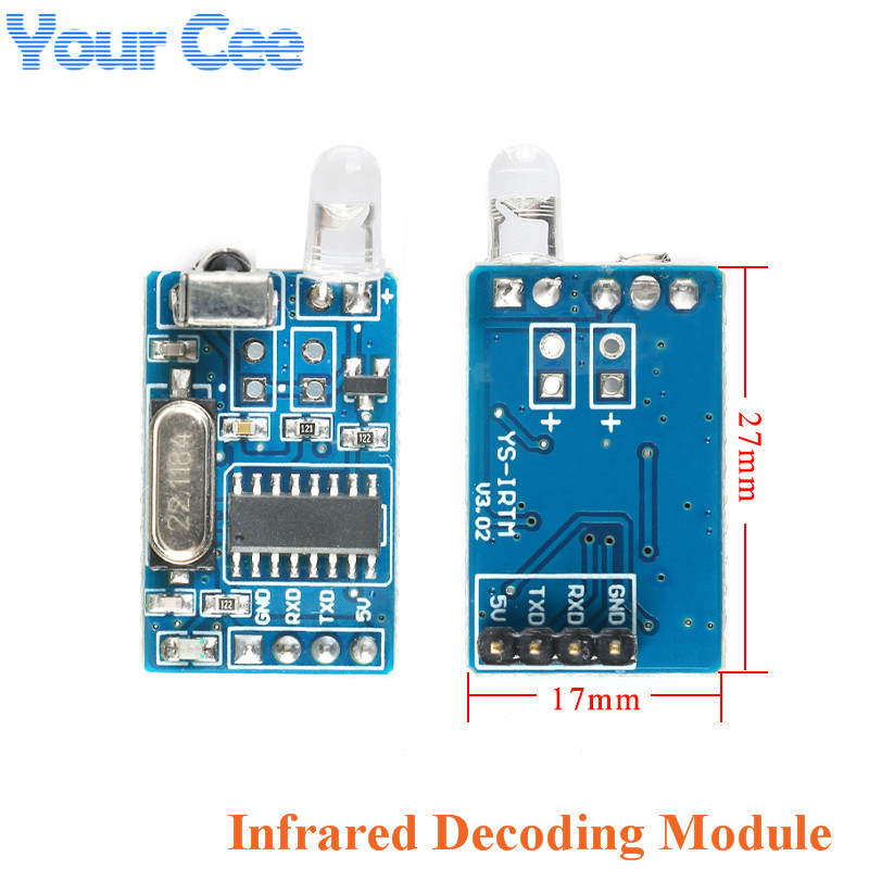 Infrared IR Wireless Remote Control Module Kits Coded Format 38KHz f Arduino