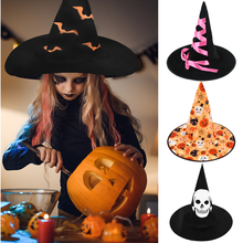 Wizard Hat Costume-Accessories Festival Masquerade Party Cosplay Halloween Kids Decor-Supplies