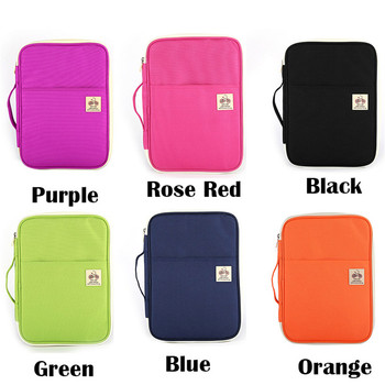A4 File Folder Document Organizer Padfolio Multifunction Case for Ipad Bag Office Filing Briefcase Products Storage Stationery 2