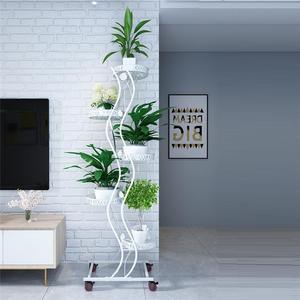 Image 5 - Salincagi Support Plante Decoration Exterieur 야외 장식 Mensole Per Fiori 플라워 스탠드 Iron Balkon Balcon Plant Shelf