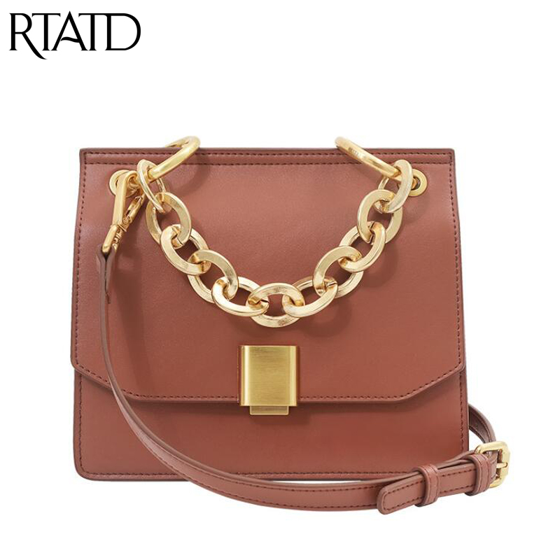Fashion Cow Leather Women Bags 2019 New Summer Chain Ladies Shoulder Messenger Bags