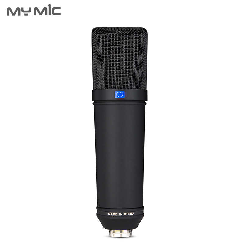 Mon micro U87 B professionnel grand diaphragme condensateur studio micro enregistrement microphone pour ordinateur podcast enregistrement vocal