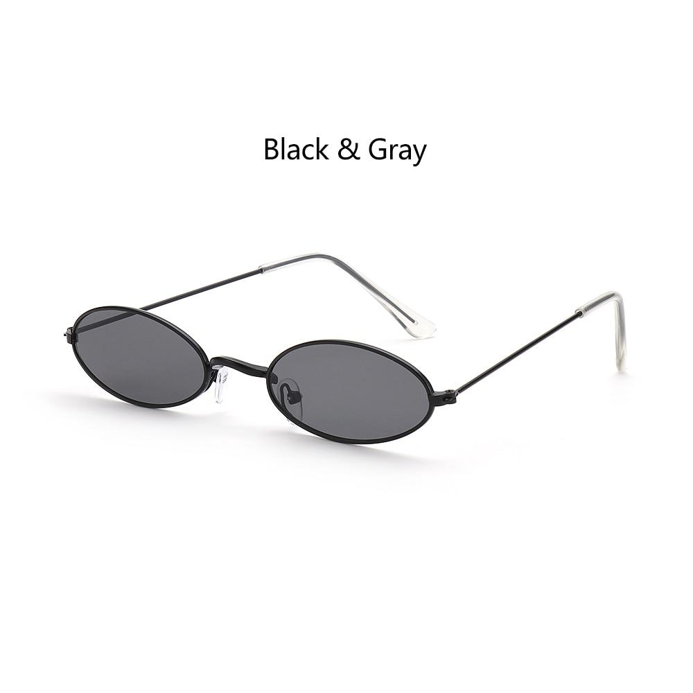 Fashion Vintage Shades Sun Glasses Elegant okulary Retro Small Oval Sunglasses for Men Women Eyeglasses gafas oculos 10