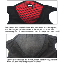1Pcs BYEPAIN Anti Pollution Mask Air Dust Face Masks Washable and Reusable Mouth Cover Windproof Dustproof Safety Mask
