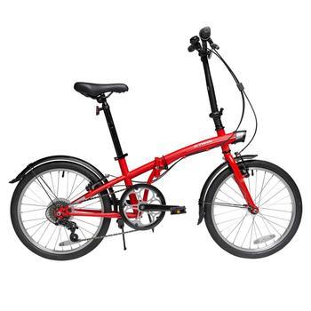 20-Cal składany rower ultralekki przenośny rower dla dorosłych mały rower składany o zmiennej prędkości dla mężczyzn i kobiet tanie i dobre opinie STEEL CN (pochodzenie) Mężczyzna 20 inches Universal High carbon steel 13kg 14kg 90kg 1 4m 140cm-180cm Bilateral folding pedal