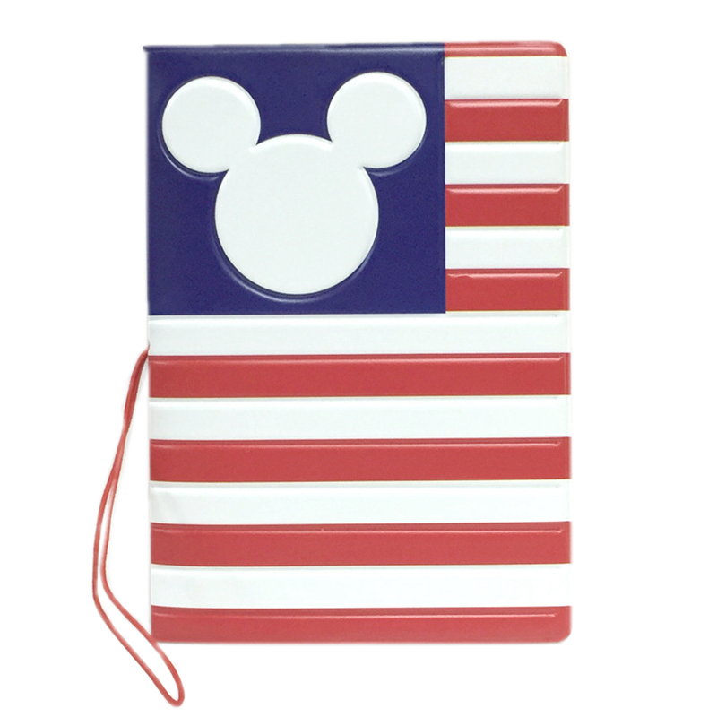 Cartoon Stripe Passport Cover Portable Wallet Bag PU Leather ID Address Holder Boarding Card Cover Creative Travel Accessories