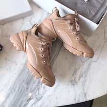 Trendy Sneakers Women Heel Casual-Shoes AUTUMN WINTER Fashion Thick CC21