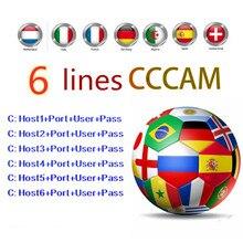 Serveur Cccam Europe espagne Portugal pologne allemagne Cline oarnaque cline pour 1 an récepteur S