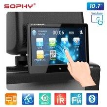 9 pollici o 10.1 pollici Car LED Cuscino Poggiatesta Monitor Sedile Posteriore Multimedia Player MP4 MP5 Specchio Link Staccabile Touch schermo