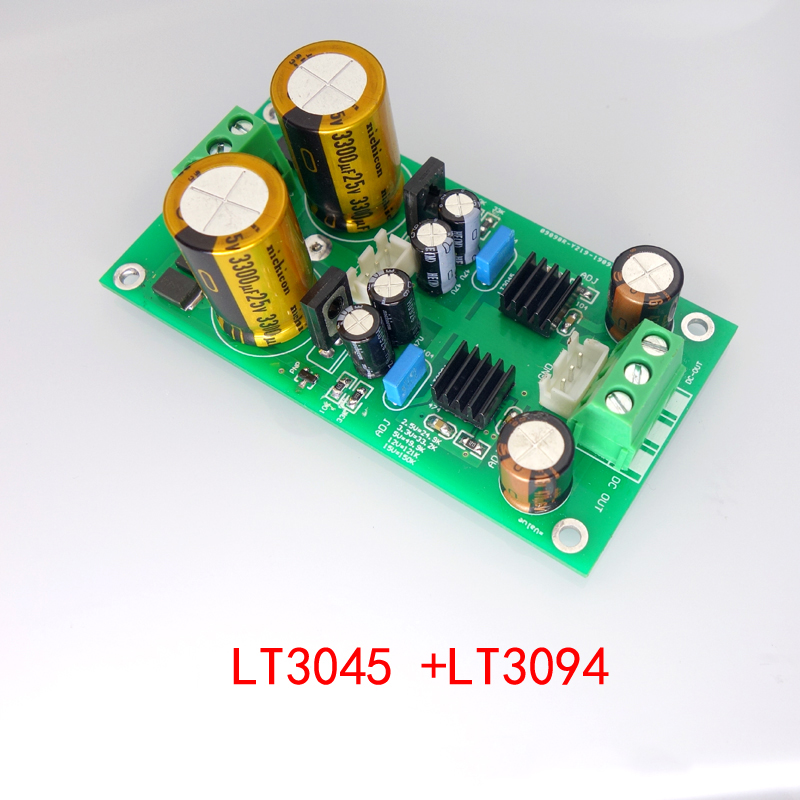 LT3045 LT3094 Positive And Negative Voltage Low Noise RF RF Regulated Linear Power Supply Buck ±5/9/12/15V