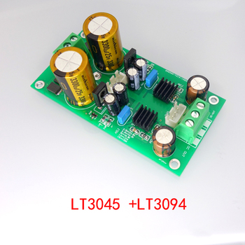 LT3045 LT3094 Positive and Negative Voltage Low Noise RF RF Regulated Linear Power Supply Buck ±5/9/12/15V negative power supply module positive voltage to negative voltage 5v 12v output negative voltage conversion module 20mv low ripp