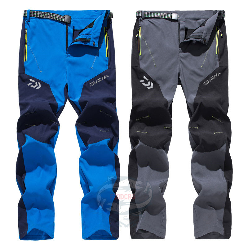 Daiwa Outdoor <font><b>Sport</b></font> Quick-Drying <font><b>Waterproof</b></font> Casual Stretch <font><b>Pants</b></font> Breathable Sunscreen Camping Hiking Fishing Tactical <font><b>Men</b></font>&Women image