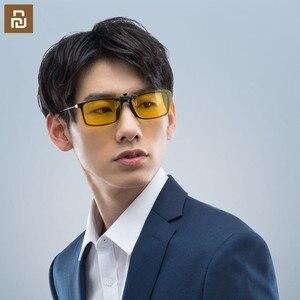 Image 4 - Очки ночного видения Youpin TS Driver/солнцезащитные очки Pilot, объектив TAC, поворот на 135 градусов, зажим из цинкового сплава, 10 г светильник легкий вес для ночного drivi