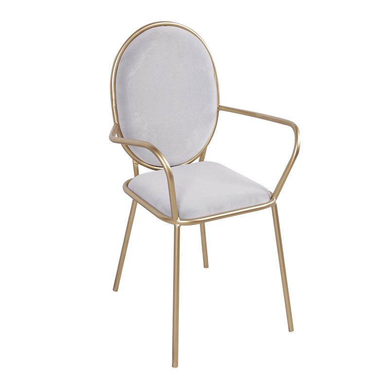 Nordic Net Red Dining Chair Flannel Negotiation Table And Chairs Girl Heart Princess Wrought Iron Dressing Chair Simple Home