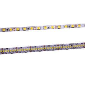 Image 1 - CRI 80 + 5mm 10mm PCB 12V 24V LED רצועת 2835 120 נוריות 240 נוריות/ m דיודה גמיש אור קלטת 4000K 6000K Neutural לבן חם לבן 5M