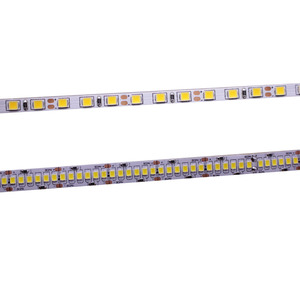 Image 1 - CRI 80+ 5mm 10mm PCB 12V 24V LED strip 2835 120LEDs 240LEDs/m diode Flexible light tape 4000K 6000K Neutural White Warm White 5M