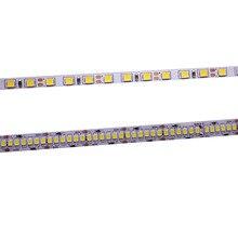 CRI tira de luces LED 2835, 120LEDs, 240LEDs/m, cinta de luz Flexible de diodo 4000K, 6000K, Blanco cálido, 5M, 80 + 5mm, 10mm, PCB, 12V, 24V