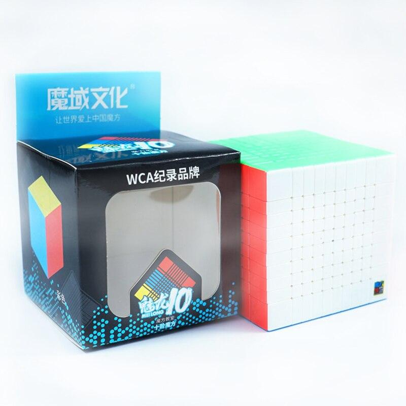 Moyu Mofangjiaoshi 10x10x10 Meilong 10x10 Cube de vitesse 84mm salle de classe professionnelle Cubo Magico Cubes de haut niveau - 6