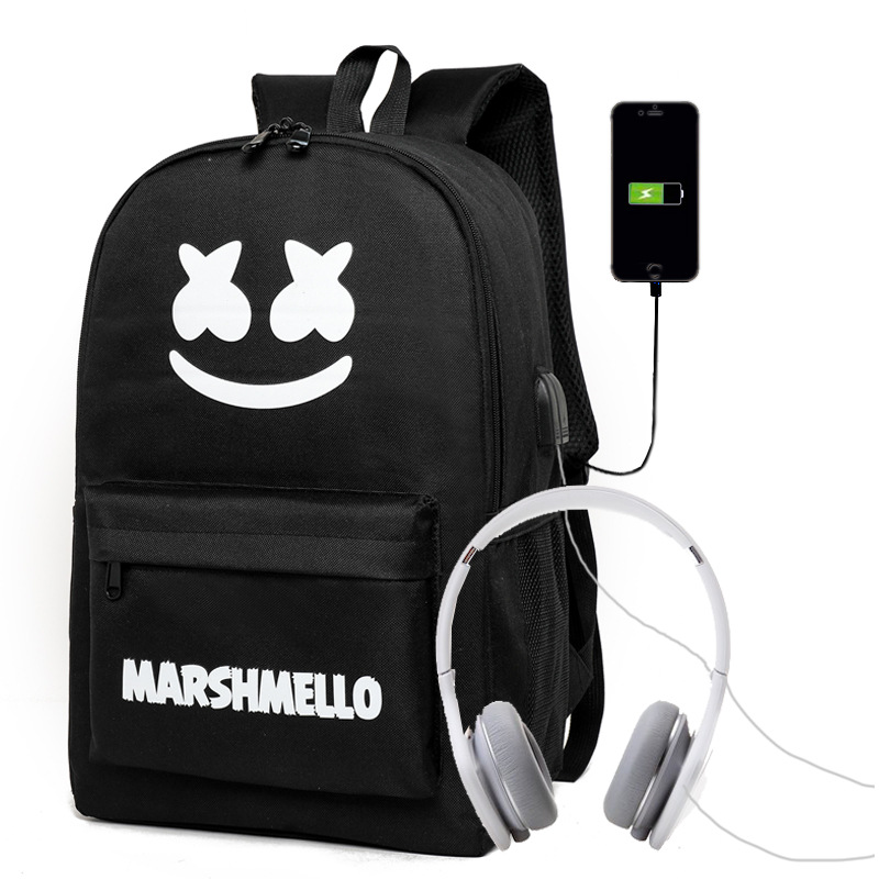 "Multifunctional EVA Protect Shell 15"" Laptop Backpack USB Charge Port Mochila Travel Bag Waterproof Schoolbag"