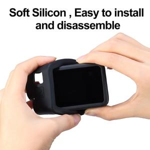 Image 5 - Ulanzi G8 3 Siliconen Case Voor Gopro Hero 8 Zwarte Cover Case Met Zonnekap Hand Strap Soft Box Voor Gopro 8 Accessoires