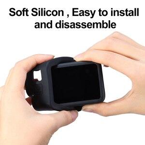 Image 5 - Силиконовый чехол ulanzi для Gopro Hero 8, черный чехол с капюшоном для объектива, мягкий чехол с ремешком на руку, аксессуары для GoPro 8
