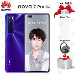 Смартфон Huawei Nova 7 Pro, 6,57 дюйма, 8 + 128 ГБ, Kirin 985 SOC 4000 мАч, МП