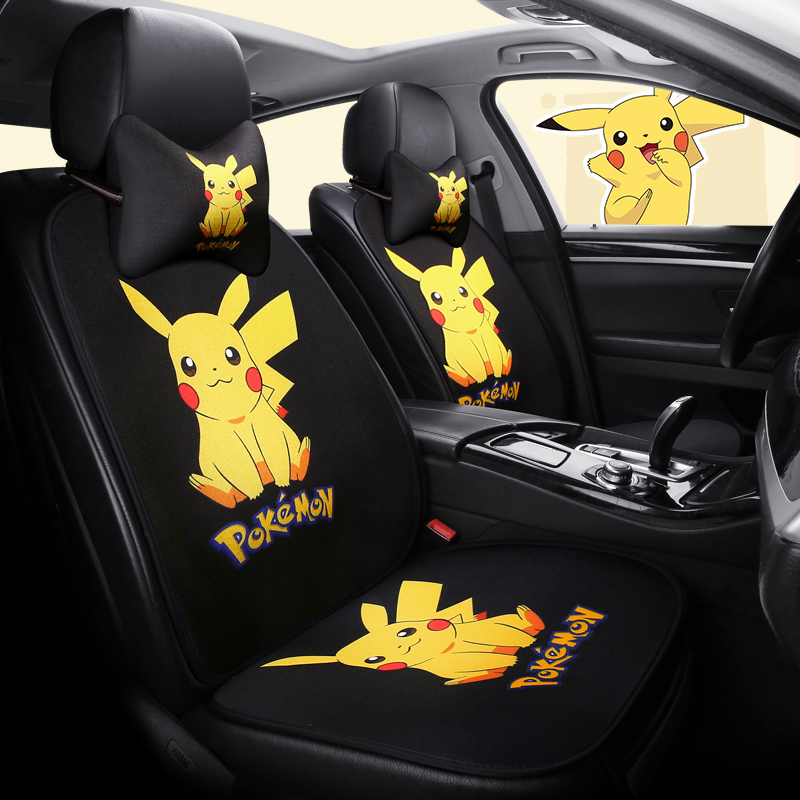 1 Seat Cartoon Car Seat Cover Set Protector Cushion Auto Seat
