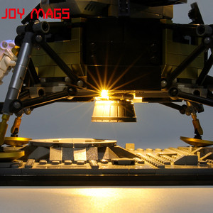 Image 4 - JOY MAGS Only Led Light Kit For Creator Apollo 11 Lunar Lander Lighting Set Compatible With 10266 (NOT Include Model)