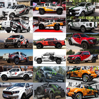 new Car stickers For Ford Raptor F150 full body appearance modified stickers RANGER off road body stickers