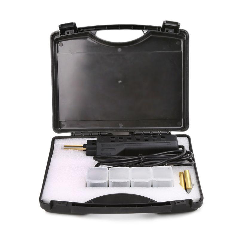 Прямая доставка автомобильный комплект для ремонта бампера горячий Степлер пластиковый ремонтный набор сварочный пистолет и