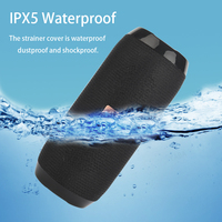 Portable Speaker Wireless Bluetooth-compatible Column Waterproof Outdoor USB AUX TF FM Radio Subwoofer Loudspeaker caixa de som 2