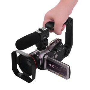"""Image 5 - ORDRO WiFi cyfrowa kamera wideo 4K UHD 30FPS kamera 3.1 """"IPS 64X IR noktowizor obiektyw szerokokątny zewnętrzne radio Mic Len Hood"""