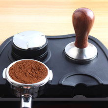 Tapete antideslizante para café, prensa de café en polvo, molinillo de martillo, herramientas Barista, utensilios de café hechos a mano, 51mm, 53mm, 58mm