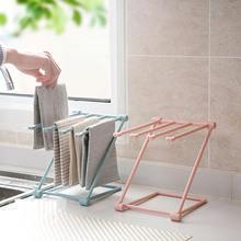 Новое высокое качество складная Вертикальная тряпки Кухня вешалка
