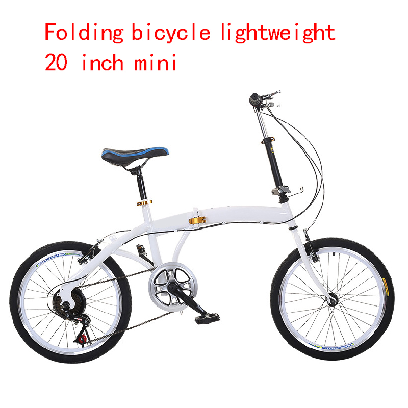 Folding bicycle bike ultra light portable small speed shift mini 20 inch 16 adult student mountain bike image
